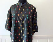 Vintage In Private Studio Button Up Shirt 1980s
