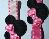 Minnie Mouse Disney  Hair Clippie, 1 for 99 CENTS