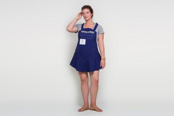 Blue Call Box - Women's Hostess Apron