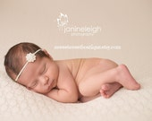 Simple Newborn Headband Gold Headband Gold Baby Bling Rhinestone Headband Baby Rhinestone Headband Vintage Newborn Photo Prop