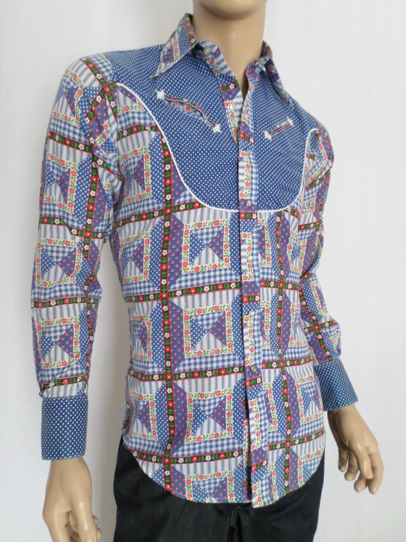 Vintage 1970's Men's ROCKMOUNT Ranch Wear HiPPiE