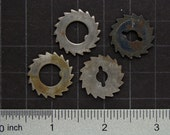 Steampunk Supplies steel gears cogs wheels Vintage clock parts lot for jewelry making Craft Supplies, Altered Art, Steampunk Costume 2922