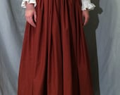 Ultimate Renaissance Skirt, Custom Size and Color