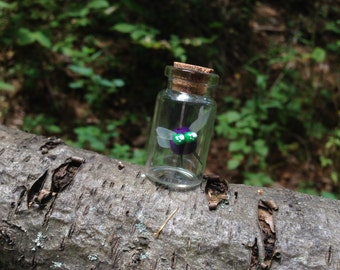 Miniature Parasprite Bottles- My Little Pony Frienship is Magic