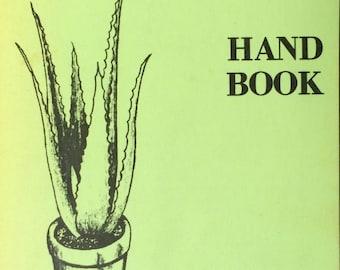 Vintage Paperback 'The Ancient Egyptian Medicine Plant Aloe Vera Handbook' by Max B. Skousen, Director of The Aloe Vera Research Institute