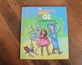 Vintage Children's Book - The Wonderful Wizard of Oz (1977)