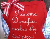 Apron Personalized with Quote for Someone Special