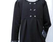 Womens Swing Coat, Warm Winter Coat, Optional Hood, Fully Lined Jacket for Warm Winter Outerwear, Plus Size