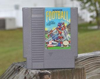 Vintage NES Play Action Football Original Nintendo Game (NES) 8 bit