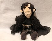Jon Snow Game of Thrones plush toy and Ghost