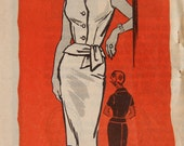 Mail Order 9395 Sewing Pattern Skirt and Top with Tied Belt Size 18 1/2 Bust 41