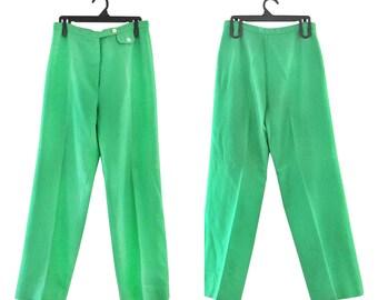Green Dress Pants Womens