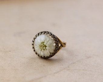 Flower ring | Real flower jewelry | Resin ring | Resin statement ring | Resin jewelry | Botanical ring | Flower Resin ring | Nature inspired