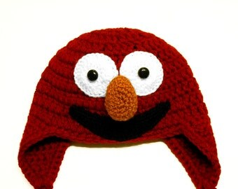 Little Elmo Muppet Hat