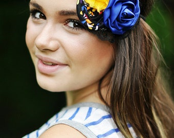 Flower haeadband