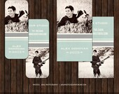 INSTANT DownloadPsd Senior Rep Card Template - Millers and WHCC - R14