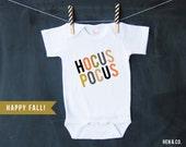 Baby Bodysuit - HOCUS POCUS - Fall Halloween Baby One Piece