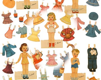 Vintage Japanese Paper Doll  Hot Girls Wallpaper