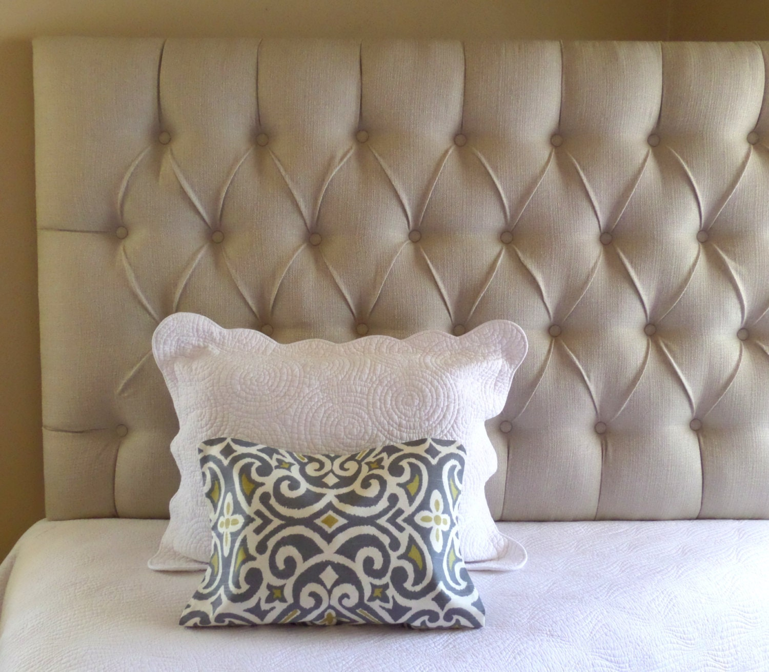 upholstered wall mounted headboards