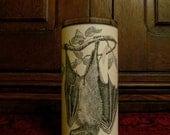 Fox Bat: Parchment Collection Candleholder