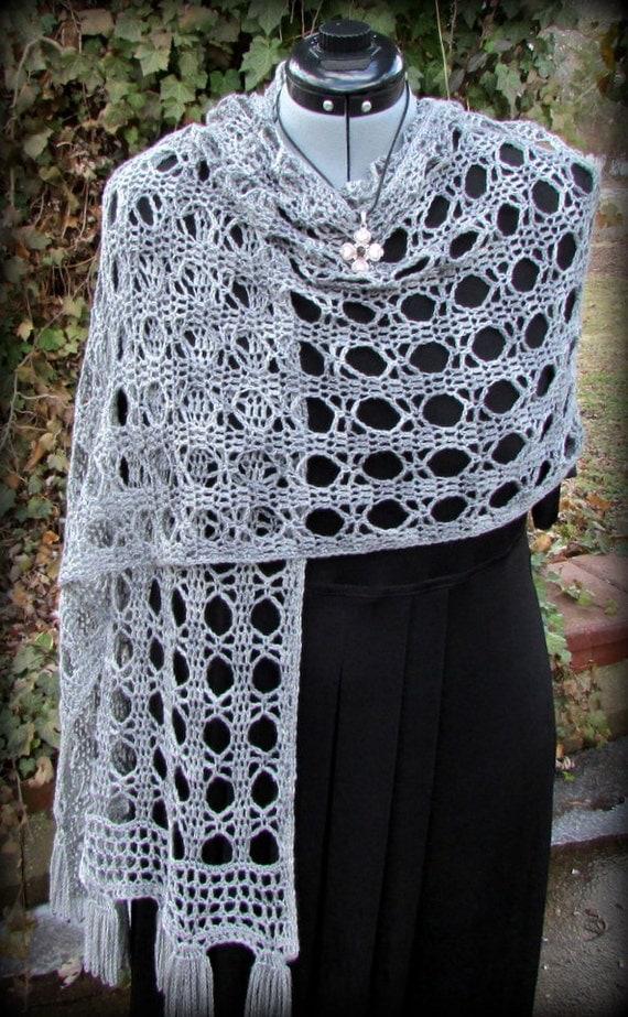Pattern only Garbo Shawl pattern crochet lace pattern