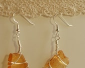 Kodiak Island Sea Glass Earrings