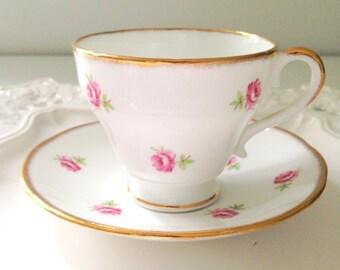 English Bone China Salisbury Tea Cup and Saucer Tea Party