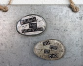 magnet funny steampunk organization old fashioned apothecary set of 2 glass oval unusual unique no cure for odd