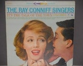 The Ray Conniff Singers - It's the Talk of the Town - Columbia Records 1959 - Vintage Vinyl LP Record Album