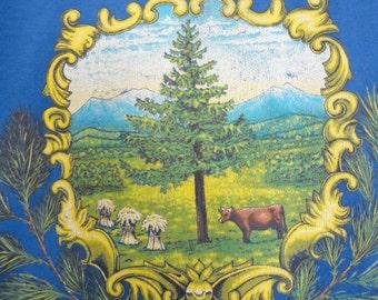 Freedom & Unity Vermont State Bicentennial Celebration Vintage TShirt Size Large 42-44