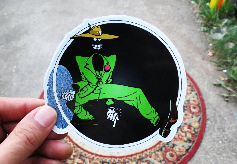 Shakedown Street Dude Grateful Dead Green Series High Quality