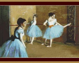 Dance Opera Cross Stitch Pattern