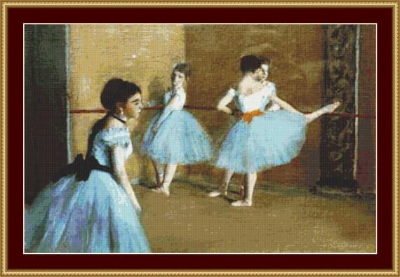 Dance Opera Cross Stitch Pattern /Digital PDF Files /Instant downloadable