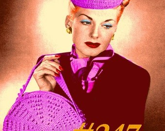 Almost FREE Vintage 1946 Dynamic Disc Bag 247 PDF Digital Crochet Pattern