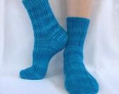Sock Knitting PATTERN PDF, Knitted Socks Pattern - Moirai Socks