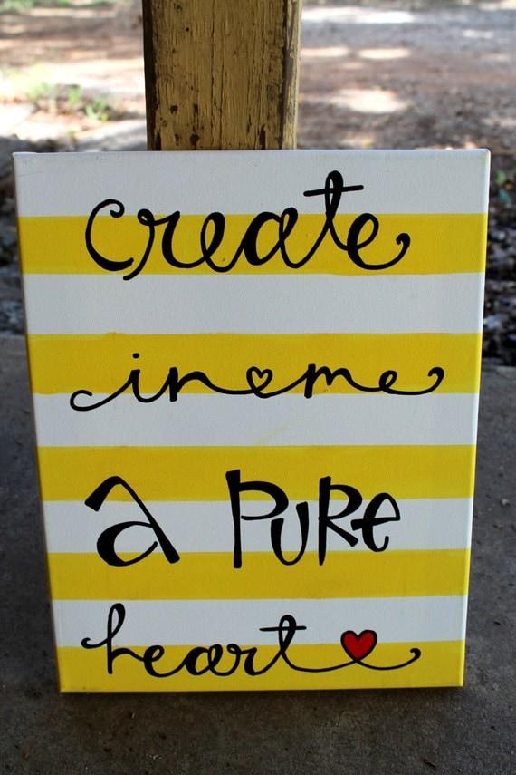 create in me a clean heart lyrics pdf