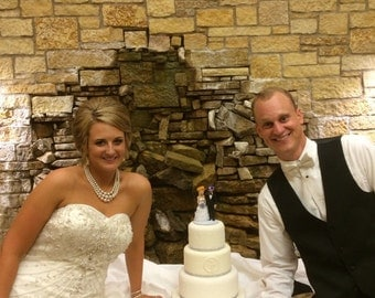 Wedding Cake Topper * Custom Made * Contact Seller for Pricing and Availability
