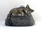 custom for lindsay - Bengal Cat Ceramic Engraved Painted Cremation Urn - hand made pet urn