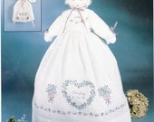 Keepsake Doll With Guardian Angel Stamped Embroidery Repackaged Kit by Bucilla