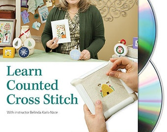Learn Counted Cross Stitch Class DVD