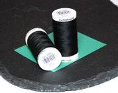 1 Reel Gutermann Sewall Thread Black - 000 - Polyester 274 yards (250m)