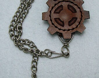 Steampunk wallet chain