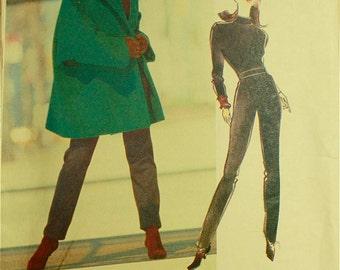 """Jacket, Top & Pants by Jennifer George - 1990's - Vogue Attitudes  Pattern 2562  Uncut   Sizes 12-14-16  Bust 34-36-38"""""""