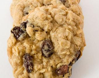 Oatmeal Raisin Cookies - 24 cookies