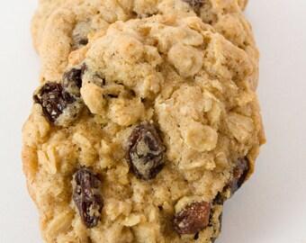 FREE SHIPPING - Oatmeal Raisin Cookies - 24 cookies