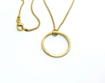 Gold chain circle 20 333 mm gold cable chain 1, 3 mm