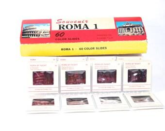 Vintage Color Slides Rome Souvenir Rome Italy Photography Italian Decor Kodak Film Gift Idea Europe