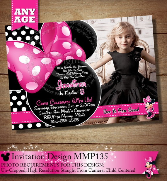 wedding invitation with polka dot romantic template