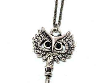 Owl Key Necklace