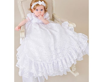 Lucy Baptism Christening Gown